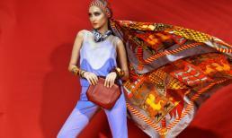 Trúc Diễm sành điệu khi mix trang phục với phụ kiện Hermès