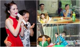 Cuộc sống vất vả mưu sinh thầm lặng của bố mẹ sao Việt