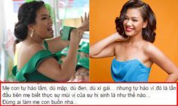 Phương Vy idol buồn vì bị chê mập, đen, xấu gái sau khi sinh con