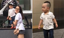 Cậu ấm nhà Ngọc Thạch sành điệu khi đi du lịch Singapore