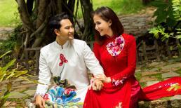 Khoảnh khắc ngọt ngào của vợ chồng Huỳnh Đông