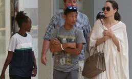 Con nuôi gốc Việt của Angelina Jolie ngày càng cao lớn, chững chạc