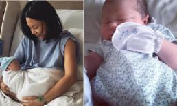 MC Thùy Minh đã hạ sinh con lần hai
