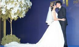 'Lương Sơn Bá' Hà nhuận Đông hạnh phúc trong ngày cưới ở Đài Bắc