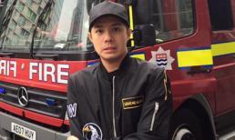 Noo Phước Thịnh chạy bộ để thoát thân khi khách sạn bị cháy