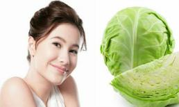 Tự chế mặt nạ cho da bằng rau bắp cải