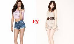 Yura và Seolhyun - cuộc chiến của 2 mỹ nhân có đôi chân đẹp nhất showbiz Hàn