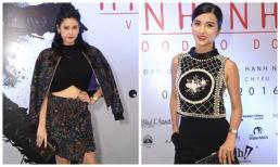 Trương Quỳnh Anh cá tính đọ dáng cùng Kim Tuyến quyến rũ dự ra mắt phim 'Hình Nhân'