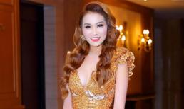Xuân Nguyễn diện váy ánh kim, đẹp lấn át các mỹ nhân tại sự kiện