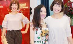 NSND Lê Khanh 'ăn gian tuổi' với style cực trẻ trung