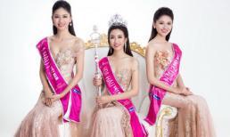 Top 3 Hoa hậu Việt Nam khoe nhan sắc kiêu kỳ trong đầm dạ hội