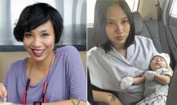 Sau sinh, MC Thùy Minh bị 'lên cơn' trầm cảm khiếp đảm