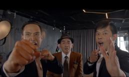 Minh Thuận bất ngờ xuất hiện chớp nhoáng cùng Thái Hòa và Kim Lý