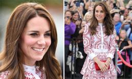 Công nương Kate thanh lịch khi diện váy hơn 100 triệu đồng