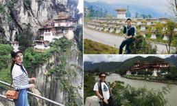Trải nghiệm của sao Việt khi đến 'Đất nước hạnh phúc nhất thế giới' Bhutan