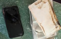 IPhone 7 Plus chưa đập hộp đã phát nổ