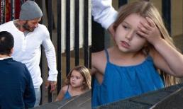 Bé Harper ngày càng ra dáng thiếu nữ, quấn quýt bố không rời