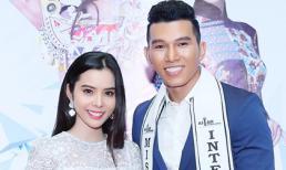 Á khôi Huỳnh Vy đẹp như công chúa chúc mừng Á vương quốc tế Ngọc Tình