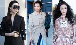 Mỹ nhân Hoa ngữ sành điệu hết cỡ tham dự Tuần lễ thời trang Paris