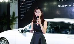 Quý bà Thu Hương quyến rũ làm MC giới thiệu dòng xe BMW 7 - Series mới