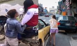 Vừa chia tay, bạn trai đã lái xế hộp bạc tỷ lướt qua khiến cô gái tiếc ngất chạy theo chặn đầu xe làm điều này