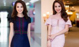 Học Á hậu Thuỵ Vân cách chọn đồ giúp trang phục công sở bớt nhàm chán
