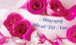 Lời chúc 20/10 - Thiệp lời chúc mừng ngày 20/10 hay và ý nghĩa cho vợ, người yêu và mẹ