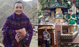 Trải nghiệm thú vị của sao Việt khi hành hương về miền đất Phật