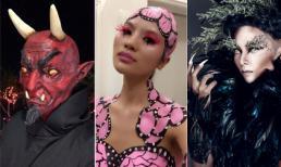 Những kiểu hóa trang Halloween 2016 quái dị của sao Việt