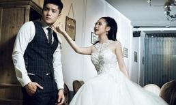 Cô dâu Hương Tràm gợi cảm ngọt ngào trong 'ngày cưới'