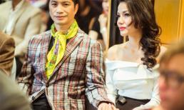 Dustin Nguyễn tình cảm nắm tay vợ khi tham dự LHP Quốc tế Hà Nội