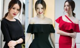 Á hậu Thụy Vân như 'tắc kè hoa' trong loạt shoot hình thời trang mới