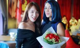 Nhật Thủy đến ủng hộ Quán quân Vietnam Idol 2016 - Janice Phương