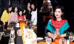 Hoa hậu Đền Hùng Giáng My đón sinh nhật sang chảnh bên bạn bè