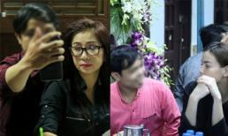 Người đàn ông 'vô duyên' selfie trong đám tang Minh Thuận lại xuất hiện trong tang lễ nghệ sĩ Út Bạch Lan