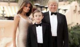 Cậu con trai út cực điển trai, phiên bản 'Donald nhí' hoàn hảo của bố Donald Trump
