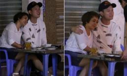 Cựu VĐV wushu Thúy Hiền thân mật với trai trẻ khi cùng đi ăn đêm