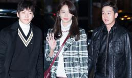 Ji Chang Wook, Yoona cùng dàn sao 'The K2' rạng rỡ tại tiệc mừng công