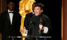 Thành Long được trao tượng vàng Oscar ở tuổi 62