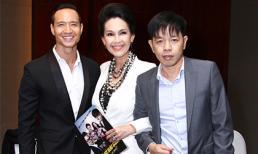 Thái Hoà, Kim Lý đọ vẻ lịch lãm trong sự kiện