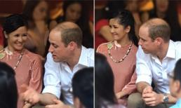 Diva Hồng Nhung khoe ảnh chụp cùng Hoàng tử William