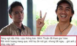 Diễn viên Văn Anh hoang mang khi nhận được cuộc gọi nhỡ của Minh Thuận