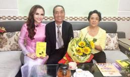 Diễm Hương xúc động khi được gặp và hiểu cuộc sống của thầy Nguyễn Ngọc Ký