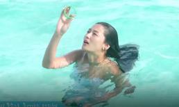 Jeon Ji Hyun quá gợi cảm trong hậu trường 'Huyền thoại biển xanh'
