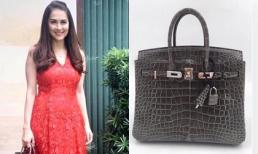 Bộ sưu tập túi Hermes đồ sộ của 'Mỹ nhân đẹp nhất Philippines'