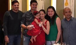 Thêm ảnh con gái 'Mỹ nhân đẹp nhất Philippines' trong tiệc sinh nhật