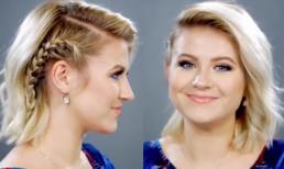 Cách tết tóc ngắn cực đẹp cho cô nàng cá tính