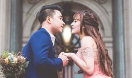 Bộ ảnh cưới tuyệt đẹp của Lê Hoàng (The Men) và vợ chụp ở Úc