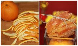 Mách bạn cách đơn giản nhất để làm mứt vỏ cam thơm lừng đón Tết