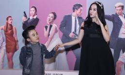 Hết thuê dàn vệ sĩ, Angela Phương Trinh đội vương miện dự ra mắt phim ở Hạ Long